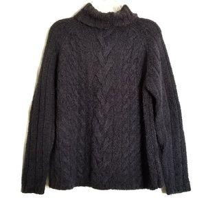Vintage Express World Brand Navy Sweater